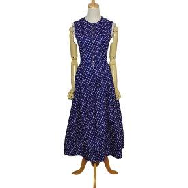 【中古】小花柄 ディアンドル チロル ワンピース ドレス レディース Sサイズ位 ヨーロッパ 民族衣装 古着 ハンドメイド