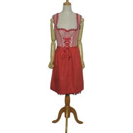 【中古】Spieth & Wensky エプロン付き ワンピース チロルワンピース ディアンドル レディース L位 カントリー ドレス ヨーロッパ 民族衣装 古着
