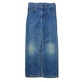 Lee RIDERS オールド デニム パンツ キッズ 5歳・110cm位 ジーンズ ジーパン USA 古着 子供服【中古】
