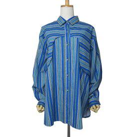 【中古】USA製 サウスウエスタンシャツ 大きいサイズ2XL 古着BIGネイティブ 【異国屋】