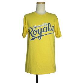 【中古】 カンザスシティー ロイヤルズ ROYALS プリント Tシャツ メンズM 古着 ユーズド