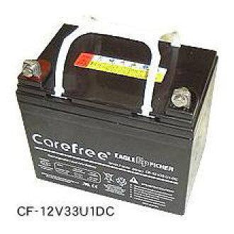 密闭型深的周期电池鹰投手CF-12V24DC蓄电池