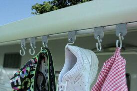 オーニングハンガー FIAMMA フィアマ キャンピングカー キャンピングトレーラー スライドレール C 車中泊 パーツ 部品 用品 キャンプ フィアマパーツ 洗濯もの 洗濯物 濡れ物 物かけ かける ランタンかけ フロントガイド 溝