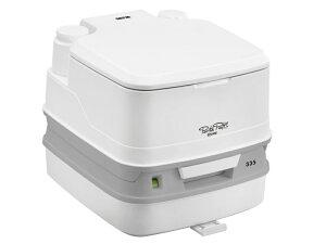 水洗式 ポータブルトイレ PPQ335 (THETFORD製 セットフォード) キャンピングカーや車中泊、介護用トイレ ポルタポッティー 携帯トイレ 非常用トイレ キャンプ