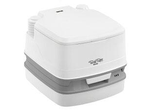 水洗式 ポータブルトイレ PPQ145 (THETFORD製 セットフォード) キャンピングカーや車中泊、介護用トイレ ポルタポッティー 携帯トイレ 非常用トイレ キャンプ