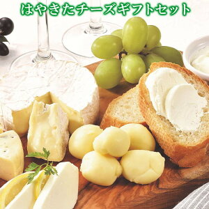 はやきたチーズギフトセット 5種類食べ比べ 送料無料 ナチュラルチーズコンテスト受賞 カチョカバロ モッツァレラ カマンベール クリームチーズ 冷蔵 お取り寄せチーズ ご当地チーズ チー