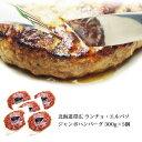 ランチョエルパソ ジャンボハンバーグ 300g×5個セット 北海道産 どろぶた ご当地グルメ お取り寄せグルメ 内祝い 冷…