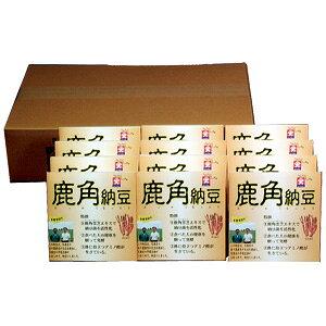 鹿角(ろっかく)納豆12個セット 道南平塚食品 北海道産大豆100%使用 北海道の納豆 発酵食品 なっとう 朝ごはん おかず