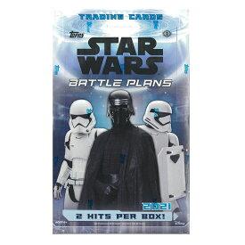 2021 TOPPS STAR WARS BATTLE PLANS HOBBY[ボックス]2021 トップス スター・ウォーズ バトル プラン ホビー