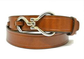 Tory Leather トリーレザー 1.25inch Hook Buckle Belt 1.25インチ フック バックル ベルト made in USA アメリカ製 直輸入品