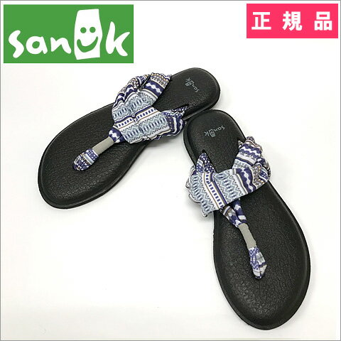 【SALE】【正規品】Sanuk(R)(サヌーク) Yoga Sling 2(ヨガスリング2)Lead Grey Lanai Blancket(リード グレー ラナイ ブランケット) Lady's(レディース) US6(23.0cm) ヨガマットサンダル
