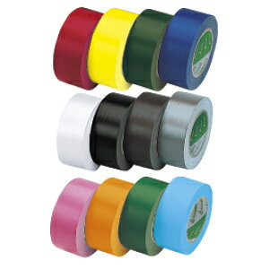 ニチバン カラー布テープ 黒