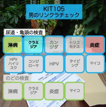 【送料無料】KIT105「男のリン・クラチェック」【あす楽対応】