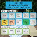 【送料無料】KIT113 アイラボ「男のHPVタイピング検査(ハイリスク+コンジローマ)」【あす楽対応】