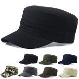 コットンワークキャップ帽子無地キャップ綿迷彩ミリタリー風軍帽子メンズレディースCAP6113