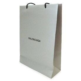 バレンシアガ BALENCIAGA 紙袋 正規店 ペーパーバッグ ショッパー グレー 32×45×12cm【ブランド付属品】【紙袋】