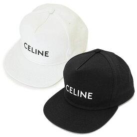 セリーヌ キャップ 2AUU1 126N 帽子 スナップバック ハット ロゴ コットン CELINE SNAPBACK CAP 2AUU1126N