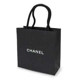 CHANEL シャネル 紙袋 正規店 ペーパーバッグ ショッパー 黒 14×14×6cm【ブランド付属品】【紙袋】