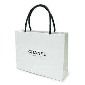 CHANEL シャネル 紙袋 正規店 ペーパーバッグ ショッパー 白 22×17×7cm【ブランド付属品】【紙袋】