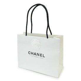 CHANEL シャネル 紙袋 正規店 ペーパーバッグ ショッパー カメリア付き 白 30×24×13cm【ブランド付属品】【紙袋】