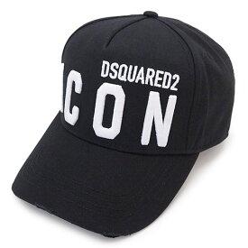 ディースクエアード キャップ BCM0412 05C00001 M063 ベースボールキャップ 帽子 ブラック 黒 DSQUARED2 Be Icon Embroidered Cargo Baseball Caps 【2021年春夏新作】