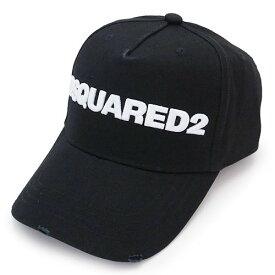 ディースクエアード キャップ BCM0028 05C00001 M063 ベースボールキャップ 帽子 ブラック 黒 DSQUARED2 Embroidered Cargo Baseball Caps 【2021年春夏新作】