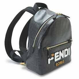 フェンディ リュックサック レディース FENDI バッグ バックパック レザー 8BZ036 A5N7 F0CFM/NERO PANNA +WHITE