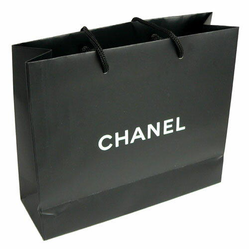 【当店のシャネル製品と一緒にご購入の方限定】シャネル 正規店 ペーパーバッグ/紙袋/ショッパー 21.5×17×7cm(アクセサリー/小物類向け)【付属品】【紙袋】