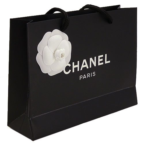 【当店のシャネル製品と一緒にご購入の方限定】シャネル 正規店 ペーパーバッグ/紙袋/ショッパー 22×16.5×6.5cm(アクセサリー/小物類向け)【付属品】【紙袋】
