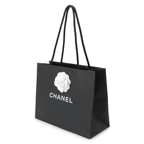 【当店のシャネル製品と一緒にご購入の方限定】シャネル 正規店 ペーパーバッグ/紙袋/ショッパー W30×H24×D13cm(長財布/バッグ類向け)【付属品】【紙袋】