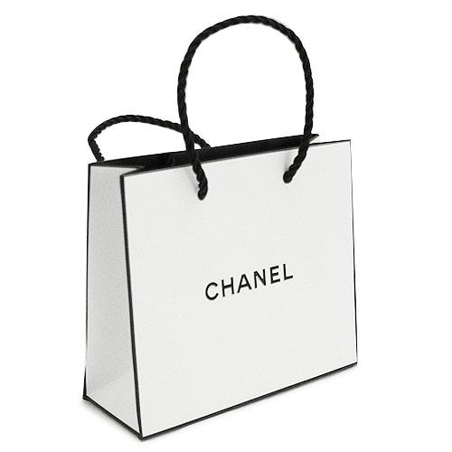 【当店のシャネル製品と一緒にご購入の方限定】シャネル 正規店 ペーパーバッグ/紙袋/ショッパー ホワイト 14×12×5cm(アクセサリー/小物類向け)【付属品】【紙袋】