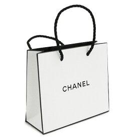 【シャネル製品と一緒にご購入で後程送料無料に修正致します】シャネル 正規店 ペーパーバッグ/紙袋/ショッパー ホワイト 14×12×5cm(アクセサリー/小物類向け)【付属品】【紙袋】