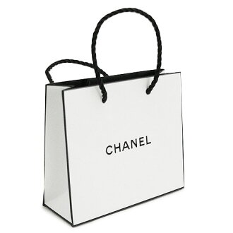 Chanel CHANEL directly operated stores paper bag / bag / shopper white 14 x 12 x 5 cm (Accessories / Accessories for) and accessories and bags