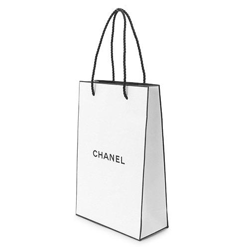 【当店のシャネル製品と一緒にご購入の方限定】シャネル 正規店 ペーパーバッグ/紙袋/ショッパー ホワイト W16×H24×D7cm(アクセサリー/財布類向け)【付属品】【紙袋】