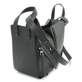ロエベ ハンドバッグ 387 30 S35 1100/BLACK LOEWE ショルダーバッグ ハンモック HAMMOCK SMALL BAG クラシックカーフ レザー ブラック 黒