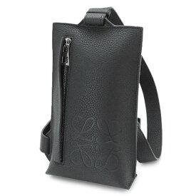 ロエベ クロスボディバッグ メンズ C500P02X02 1100 ショルダーバッグ バーティカル Tポケット ブラック 黒 LOEWE VERTICAL T POCKET 【2021年秋冬新作】