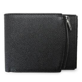 メゾンマルジェラ 折財布 メンズ S35UI0436 P0399 T8013 二つ折り財布 レザー ブラック 黒 Maison Margiela 【2021年春夏新作】