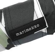 マリメッコ傘折りたたみ傘ピエニウニッコホワイト×ブラック花柄038654030
