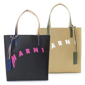 マルニ トートバッグ レディース SHMPQ10A07 P3951 ショッピングバッグ ディストーテッド ロゴ MARNI SHOPPING BAG 【2021年春夏新作】