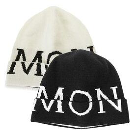 モンクレール ニットキャップ 3B00012 M1122 帽子 レタリングハット ロゴ MONCLER BERRETTO TRICOT 【2021年秋冬新作】