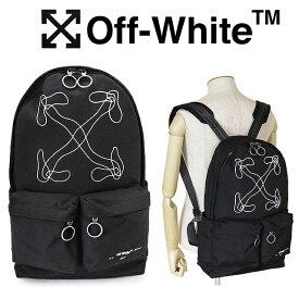 オフホワイト リュック メンズ OFF-WHITE OMNB003F19C360111001 バックパック ブラック アローズ 【1204sale】
