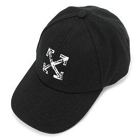 オフホワイト キャップ OWLB014F21FAB001 1001 アローズ ベースボールキャップ 帽子 ブラック 黒 OFF-WHITE ARROWS BASEBALL CAP 【2021年秋冬新作】