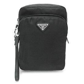 プラダ ポーチ PRADA 2NE011 064 F0002 メンズ バッグ セカンドバッグ クラッチバッグ TESSUTO+SAFFI NERO ナイロン ブラック 黒