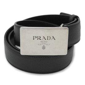 【訳あり】 プラダ ベルト PRADA 2CM145 2FAD F0002 メンズ レザー ブラック 黒