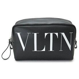 ヴァレンティノ クラッチバッグ VALENTINO ポーチ VLTN バッグ レザー ブラック QY2P0534 LVN 0NO/NERO
