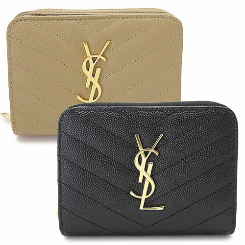 サンローランパリ 折財布 レディース SAINT LAURENT PARIS 財布 二つ折り キルティング レザー 403723 BOW01 6515/9207