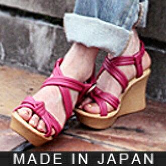 作為fuwafuwa管子楔子鞋跟涼鞋軟體的國產材料對脚客氣!高跟鞋也因為是厚底所以舒適! ★S1218