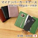 マイナンバーカードケース スキミング防止カード付き 就職祝い 父の日 母の日 敬老の日 日本製 MYNOC
