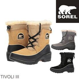 SOREL ソレル ティボリ3 1749361 TIVOLI III レディース 防寒ブーツ 雪靴 スノーブーツ ウィンターブーツ アウトドアブーツ NL2532  正規品取扱店舗