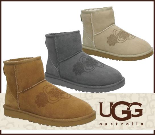 即日ご発送 UGG CLASSIC MINI KIMONO アグ クラシックミニ ブーツ 3060/正規品取扱店舗/ so1